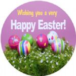 Personalised Easter Sticker Design 5